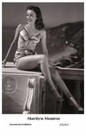 MARILYN MONROE - Film Star Pin Up PHOTO POSTCARD- Publisher Swiftsure 2000 (201/411) - Artistas