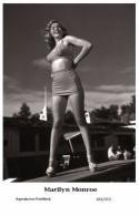 MARILYN MONROE - Film Star Pin Up PHOTO POSTCARD- Publisher Swiftsure 2000 (201/372) - Artistas
