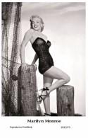 MARILYN MONROE - Film Star Pin Up PHOTO POSTCARD- Publisher Swiftsure 2000 (201/275) - Artistas