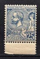 MONACO 1885 / 1914  - Y.T. N°  25 - NEUF** - Monaco