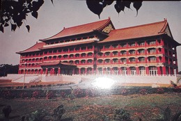 O) CHINA, YONGHEBUDDHIST TEMPLE - ARCHITECTURE, POSTAL CARD XF - China