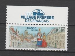 """FRANCE / 2019 / Y&T N° 5336 ** : Cassel (Nord) Avec Vignette """"villagé Préféré"""" BdF Haut - Gomme D'origine Intacte - Nuovi"""