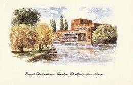 Royal Shakespeare Theatre, Stratford-upon-Avon, England - Stratford Upon Avon