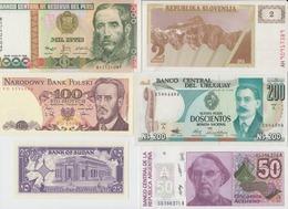 LOT DE 16 BILLETS DIVERSES PAS DE DOUBLE TTB SUPERBE TOUS PAYS - Banconote
