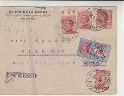 Italy / Express Mail / Austria - Italia