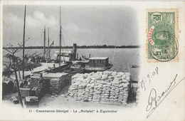 Casamance Sénégal - Le Cargo Roitelet à Ziguinchor - Carte N° 14 - Sénégal