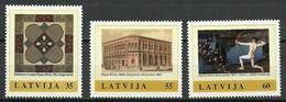 Latvia 2011 Mi 811-813 MNH ( ZE3 LTV811-813dav103 ) - Tiro Al Arco