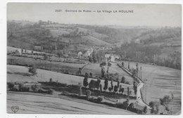 LE VILLAGE DE LA MOULINE AUX ENVIRONS DE RODEZ - N° 2627 - CPA NON VOYAGEE - Francia