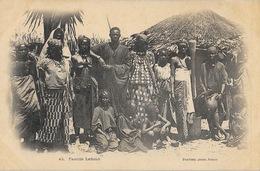 Famille Lahobé (Sénégal?) Photo Fortier - Carte Dos Simple N° 42 Non Circulée - Africa