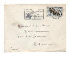 FLAMME TELEGRAMME ILLUSTRE DE PARIS XVI 1963 - Sellados Mecánicos (Publicitario)