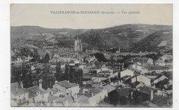 VILLEFRANCHE DE ROUERGUE - VUE GENERALE - CPA VOYAGEE - Villefranche De Rouergue