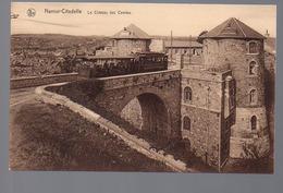 REF 416 : CPA Belgique Namur Citadelle Chateau Des Comtes Tramway - Otros