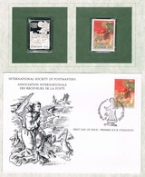 PORTUGAL • 1982 • ST FRANCIS OF ASSISI • Unhinged Stamp, Silver Replica Stamp + First Day Cover - Nuovi