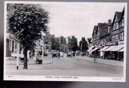 REF 416 : CPA Grande Bretagne Central Road Worcester Park - Autres