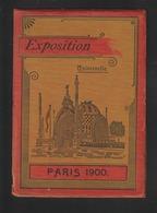 PARIS 1900 - Exposition Universelle De PARIS 1900 - Livret Avec 11 Photos Couleur Des Monuments De L'Expo - 13 Photos - Documents Historiques