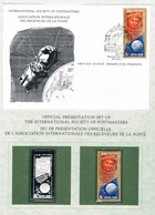 USSR • 1981 • MANNED SPACE FLIGHT • Unhinged Stamp, Silver Replica Stamp + First Day Cover - 1923-1991 URSS