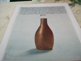 ANCIENNE PUBLICITE BOUTEILLE  PERRIER 1964 - Affiches
