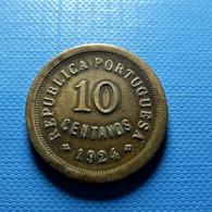 Portugal 10 Centavos 1924 - Portugal