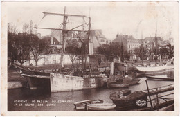 56. Pf. LORIENT. Le Bassin Du Commerce Et Le Cours Des Quais - Lorient