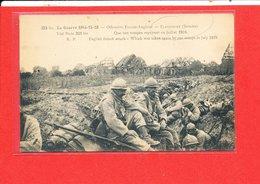 80 FLAUCOURT Cpa Animée Les Troupes En 1916 GUERRE    323 Bis Edit R P - Autres Communes