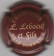 CAPSULE  MUSELET . CHAMPAGNE LEBOEUF ET FILS . VILLE-DOMMANGE - Champagne