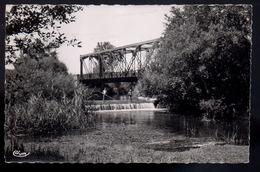 REF 403 : CPSM 41 CELLETTES Pont Sur Le Beuvron - France