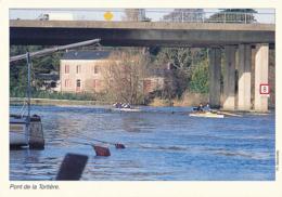 44 (LOIRE-ATLANTIQUE), NANTES : Pont De La Tortière (neuve, 1995) 2 Scans, Aviron - Nantes