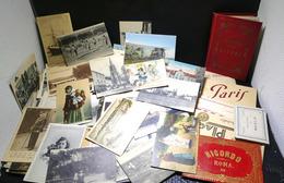 Lots De 270 CPA +7 Carnets De CPA - Cartes Postales
