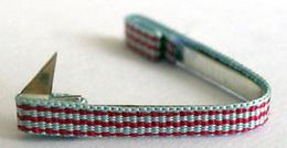 Fixe Ruban Médaille Croix Du Combattant - Rappel Décoration Militaire De Revers De Veste - WWII - France