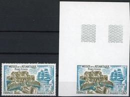 N° 1913 / NON DENTELE PORT LOUIS MORBIHAN Avec Coin De Feuille Supérieur ** (MNH). TB - Frankreich