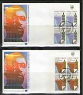 ONU NEW-YORK 1979 FDC 10eme NAMIBIE   YVERT  N°304/05  NEUF MNH** - New-York - Siège De L'ONU