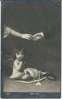 Angel - Child - Old Postcard 1918 - Angels