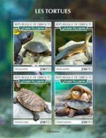 Djibouti 2019 Turtles Fauna Turtle S/S DJB190402 - Sin Clasificación