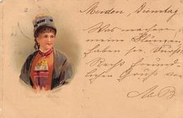 Costume Des Grisons - Graubunden - 1900 - Litho - GR Grisons
