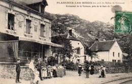 Plancher Les Mines-restaurant De La Terrasse Près De La Gare Du Tramway-bon état - Frankreich