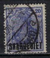 SARRE             N°     YVERT    37        OBLITERE       ( Ob  5/26 ) - 1920-35 Société Des Nations