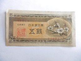 JAPON-BILLET DE 5 SEN-1948 - Japon