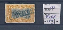 BELGIAN CONGO COB 20 USED LINEAR MARK LEOPOLDVILLE - Belgisch-Kongo