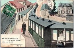 10 LONGUEVILLE - Carte Souvenir (train) - Autres Communes