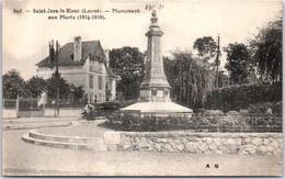 45 SAINT JEAN LE BLANC - Monument Aux Morts - Autres Communes
