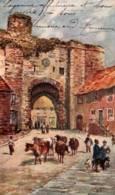 CPA - RYE - THE LAND GATE - ILLUSTRATION W.A.BUTTON ... - Rye