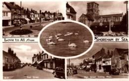CPA - SHOREHAM BY SEA - MULTIVUES ... - England
