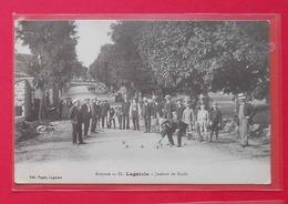 12 Laguiole 1917 Joueurs De Boules TB Animée éditeur Pages N°51 Dos Scanné - Laguiole