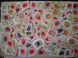 België 2018 Fruit - Fruits (250 Zegels/timbres) - Lots & Kiloware (mixtures) - Max. 999 Stamps