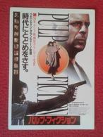 POSTAL POST CARD PULP FICTION QUENTIN TARANTINO JOHN TRAVOLTA BRUCE WILLIS UMA THURMAN SAMUEL L. JACKSON JAPAN ? CHINA ? - Cine