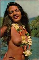 Polynésie Française Tahitienne à La Rivière Nu Nue Nude - Polynésie Française