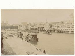 PARIS - Exposition De 1900 - Carte Photo, Le Vieux Paris, Bord De Seine - Expositions