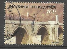 MK 2012-629 EUROPA CEPT, MACEDONIA, 1 X 1v, Used - 2012