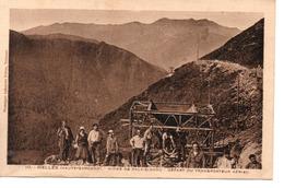 MELLES : Mines De Pala Bidaou ,depart Du Transbordeur Aerien - Mines