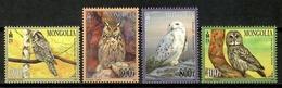 Mongolia 2017 / Birds MNH Vögel Aves Oiseaux / Cu14505  40-18 - Pájaros